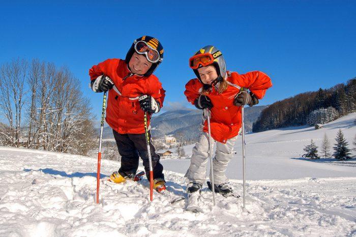 Škola skijanja za vrtićku djecu na Sljemenu