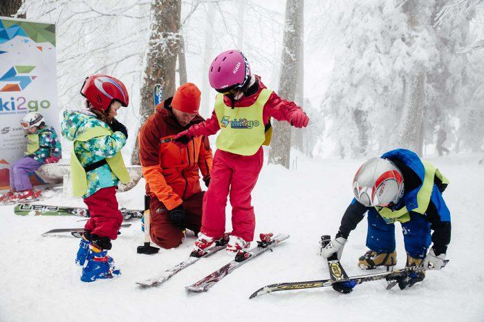 Vikend škola skijanja za djecu na Sljemenu