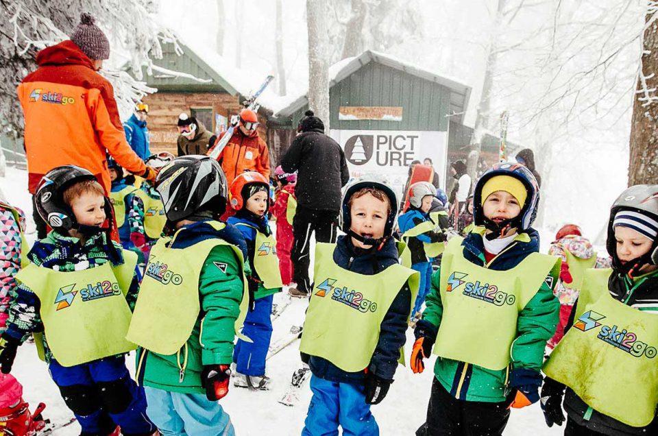 Skijanje za predškolsku djecu na Sljemenu