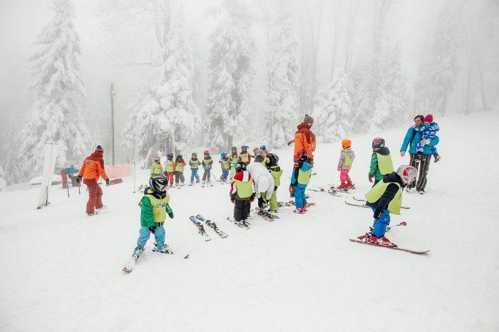 Vikend škola skijanja, Sljeme, 2021.
