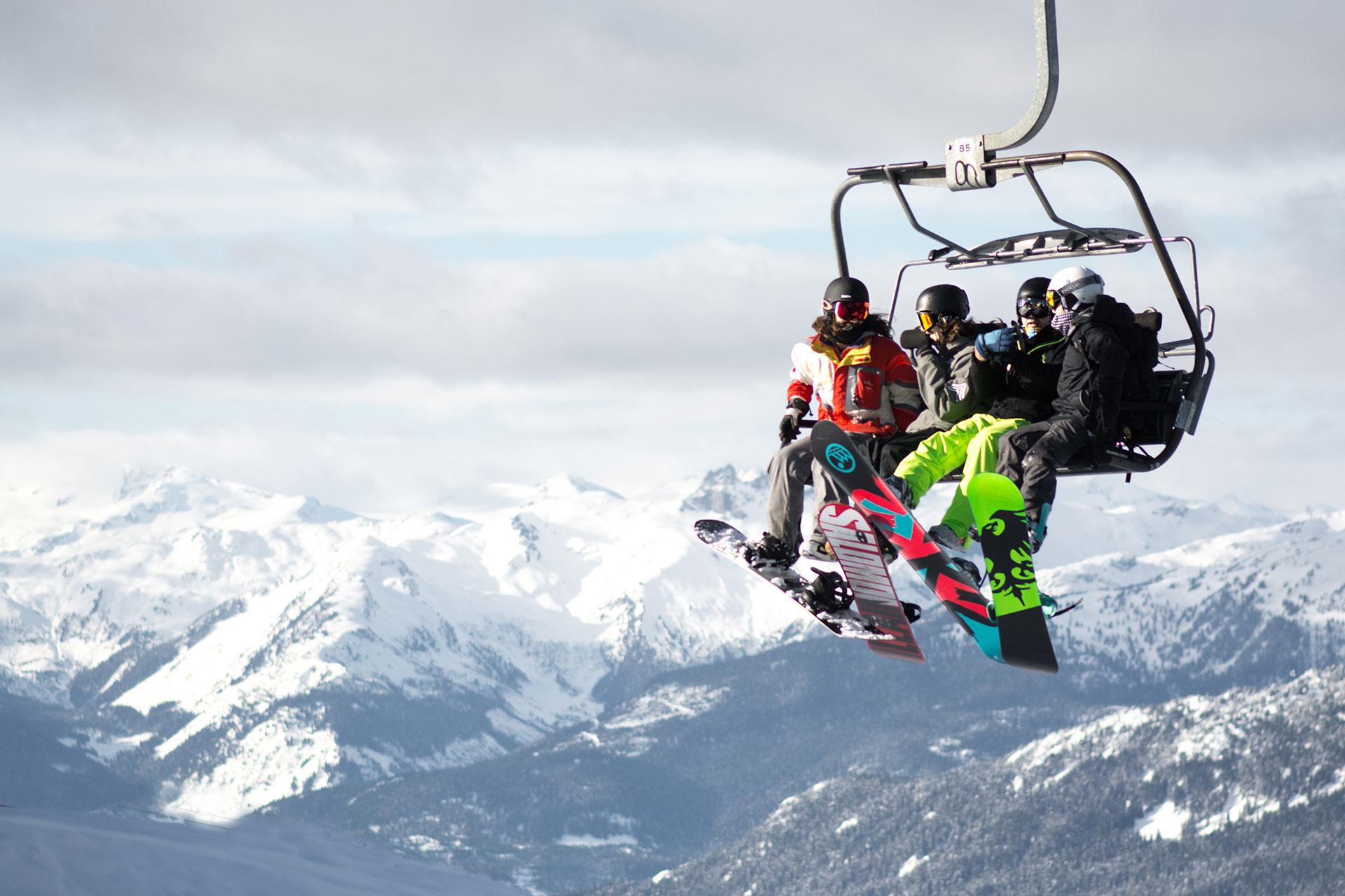 Djeca skijanje