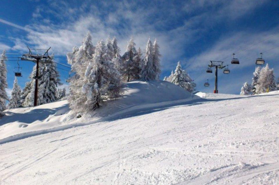 Skijanje za vrijeme Hrvatskog tjedna—Folgarida, Italija