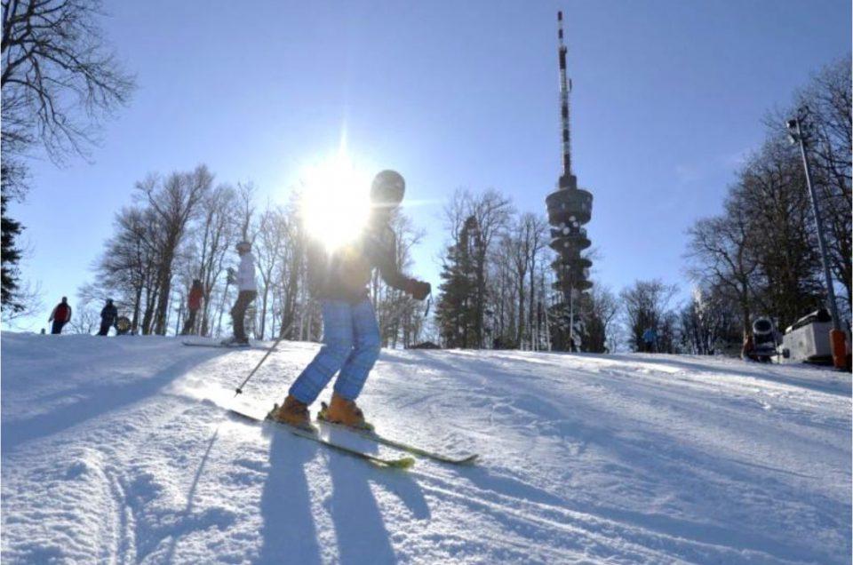 Skijanje za školsku djecu za vrijeme zimskih praznika
